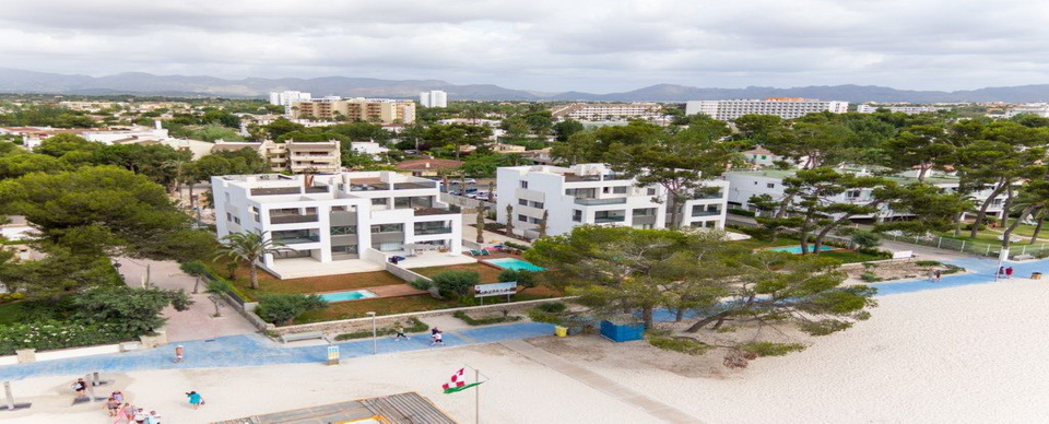 New delopment of aparments by the Alcudia Beach